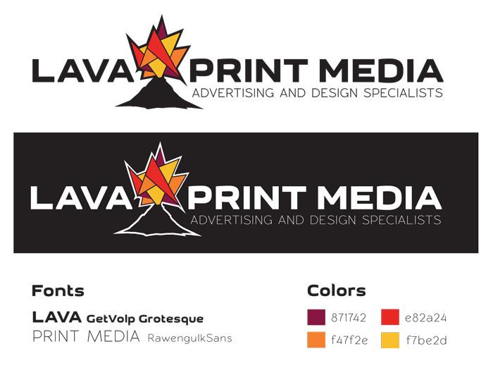 Image of Lava Print Media logo