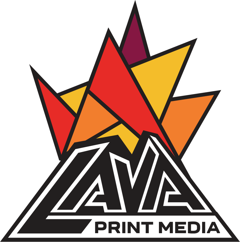 Lava Print Media header logo