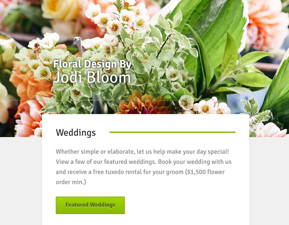 bloom n grow website image