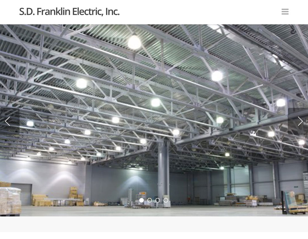 SD Franklin Electric homepage image
