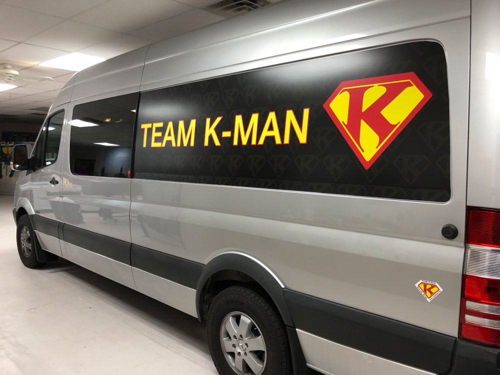 K-man cycles van wrap