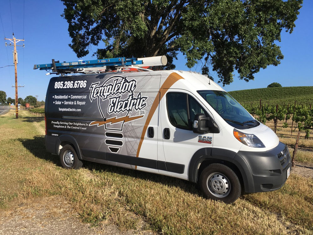 Van Wrap for Templeton Electric