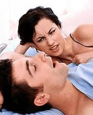 Snoring problems affecting couples' rest