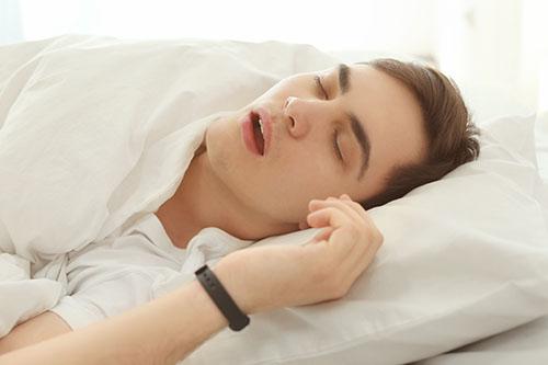Increased snoring instances
