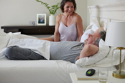 Enjoy a well-rested you and a well-rested spouse with Inspire