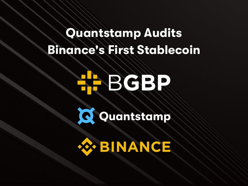 Quantstamp Secures Binance's First Stablecoin
