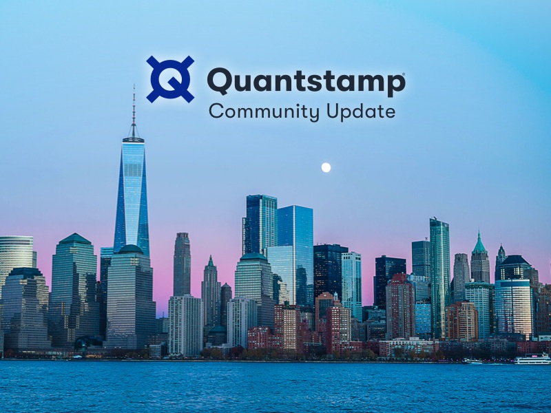 Quantstamp Community Update July 2019