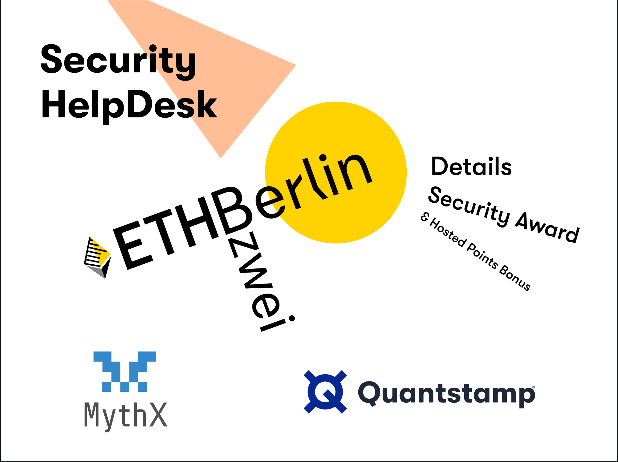EthBerlin Security HelpDesk Details, Security Award & Hosted Points Bonus from Quantstamp + MythX