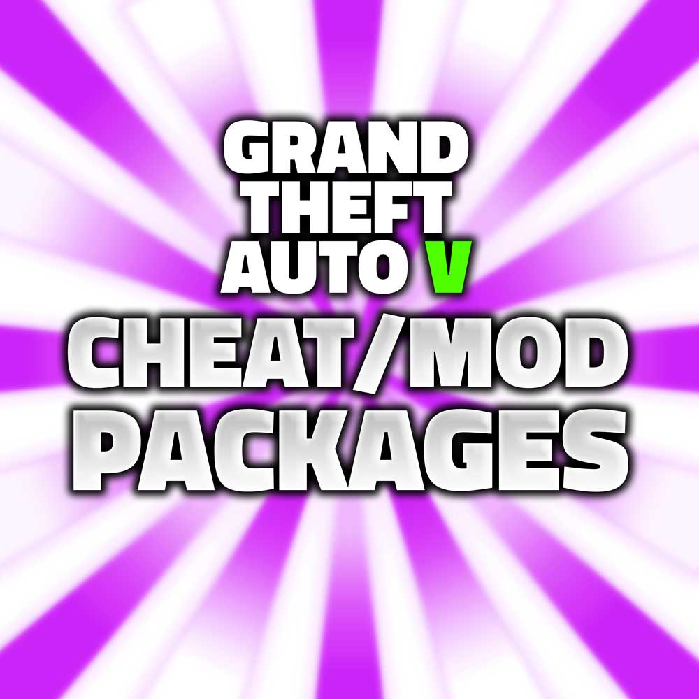 grand theft auto v cheat/mod packages