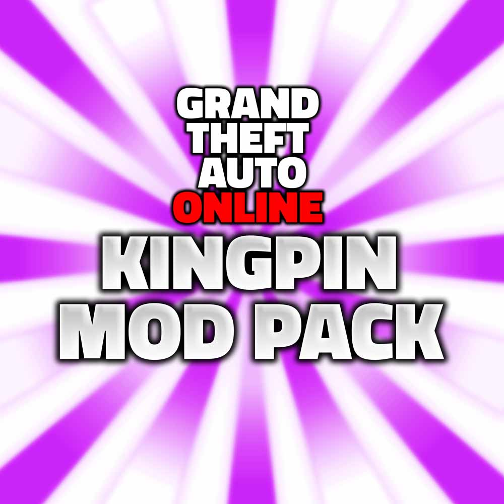 grand theft auto online kingpin mod pack