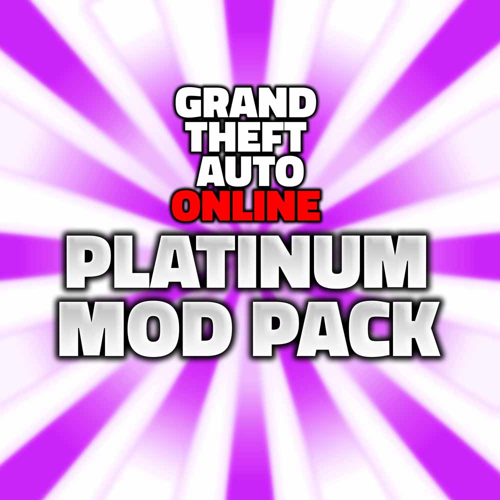 grand theft auto online platinum mod pack