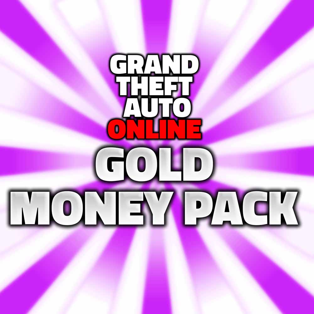grand theft auto online gold money pack