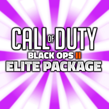 call of duty black ops 2 elite package