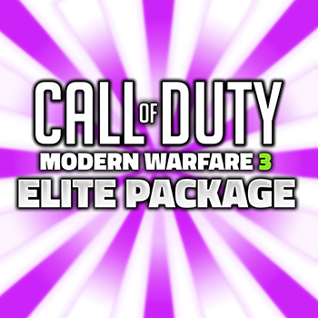 call of duty modern warfare 3 elite package