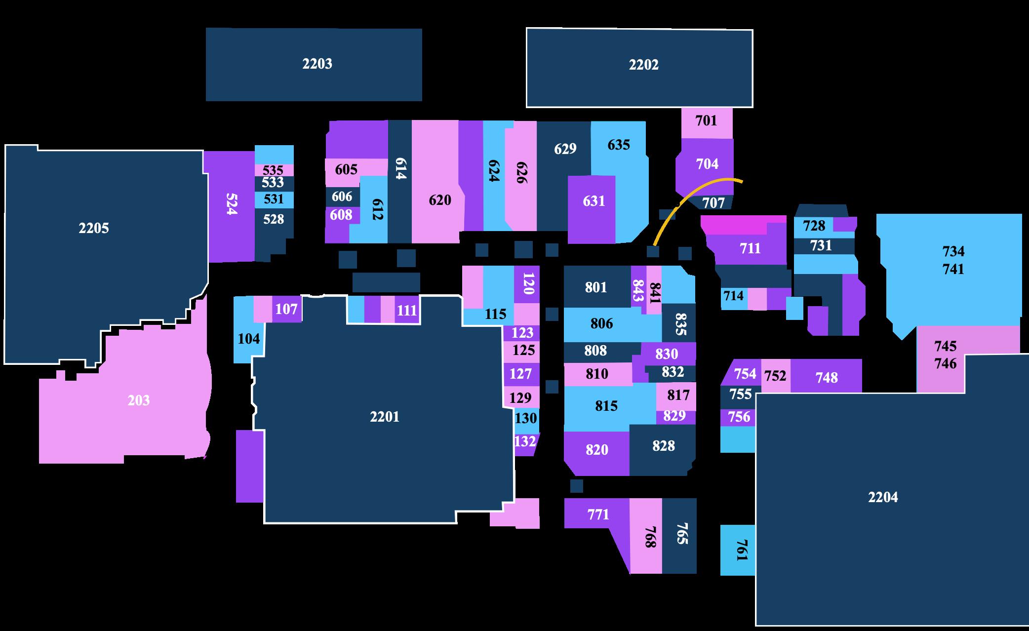 Eastland Center Mall Map