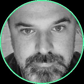 Daniel Schwarze - green flames