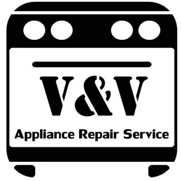 v&V appliance repair service logo