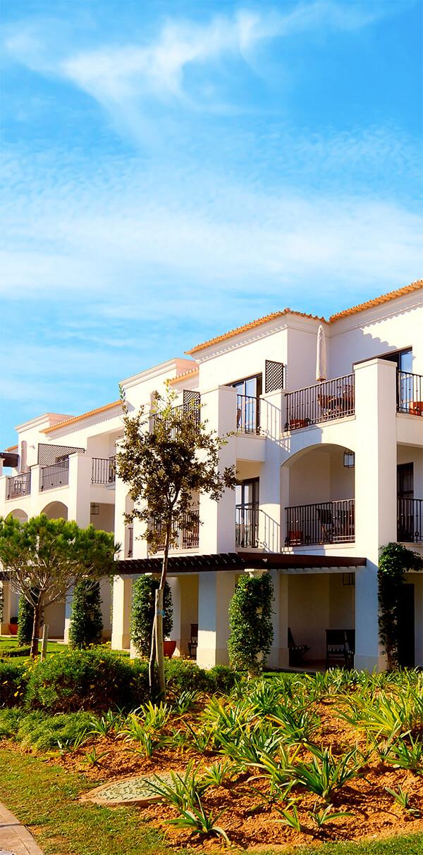 Photo of beautiful Italian-style multi-unit housing
