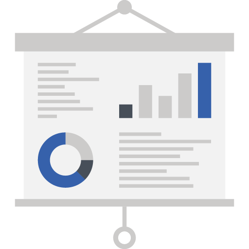 Icon of a presentation