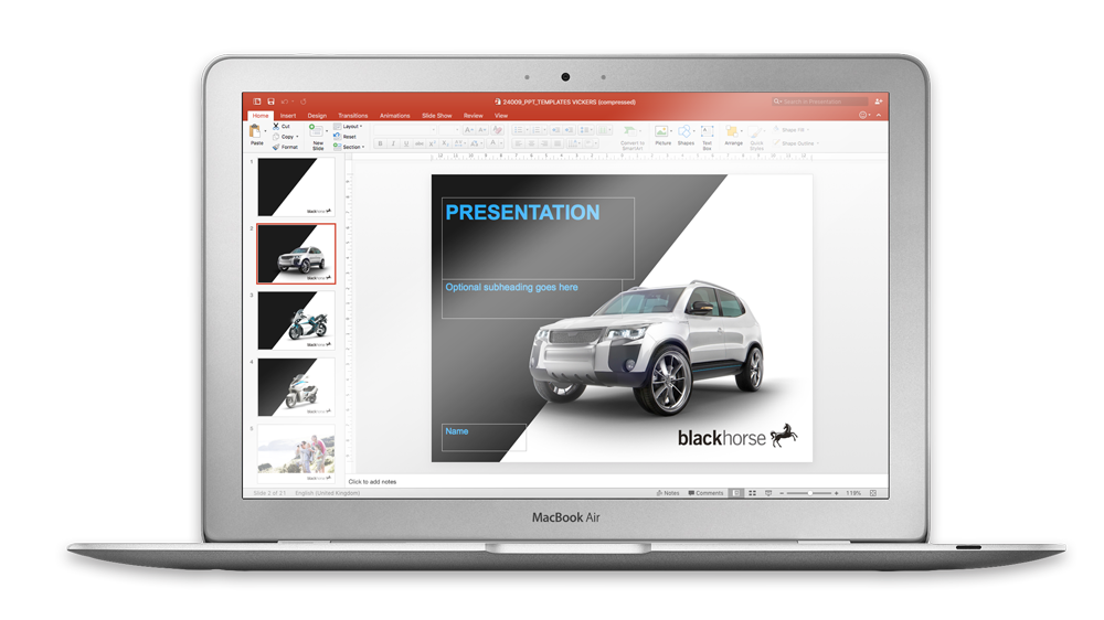 Free Powerpoint review  Skein Agency digital design marketing Glasgow