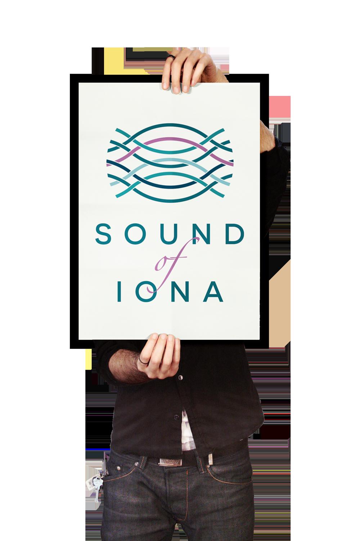 Sound of Iona logo  Skein Agency digital design marketing Glasgow