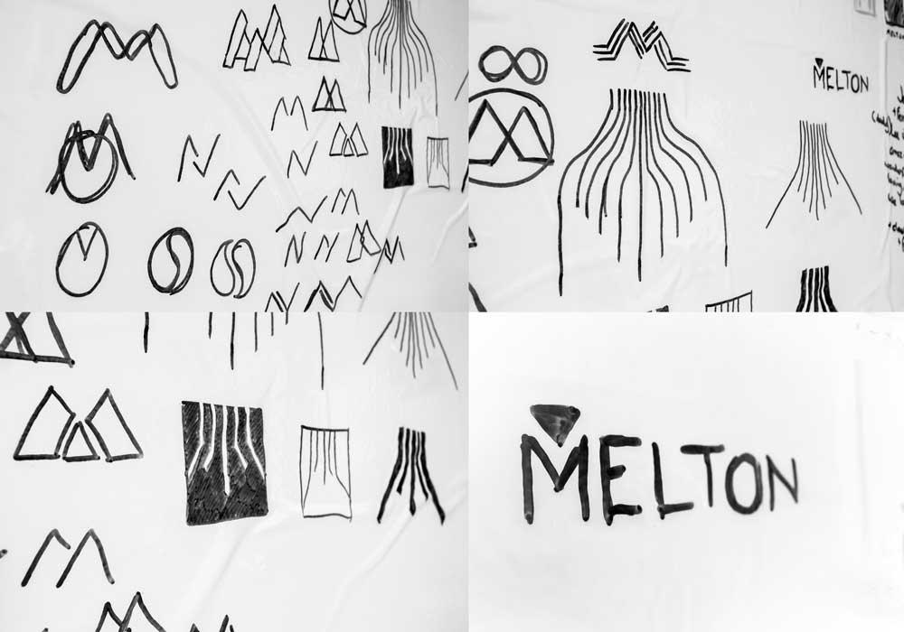 Melton Plastics logo development Skein Agency digital design marketing Glasgow