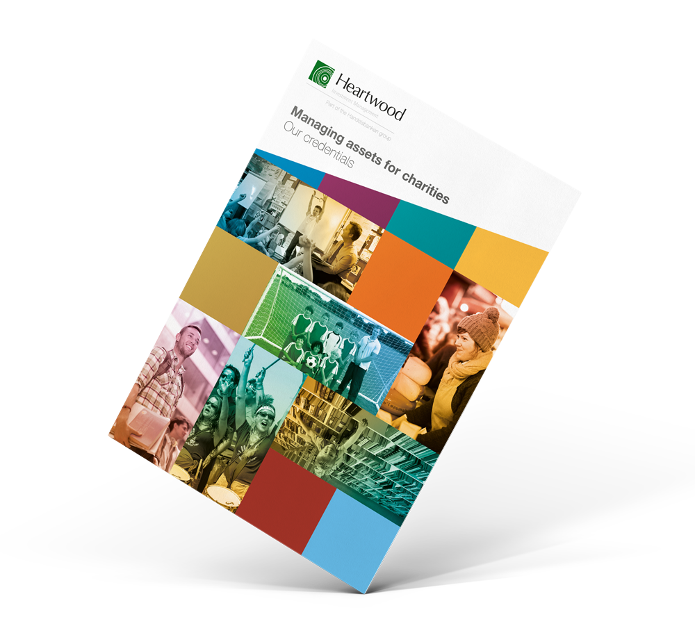 Heartwood Investment Management document design Skein Agency digital design marketing Glasgow