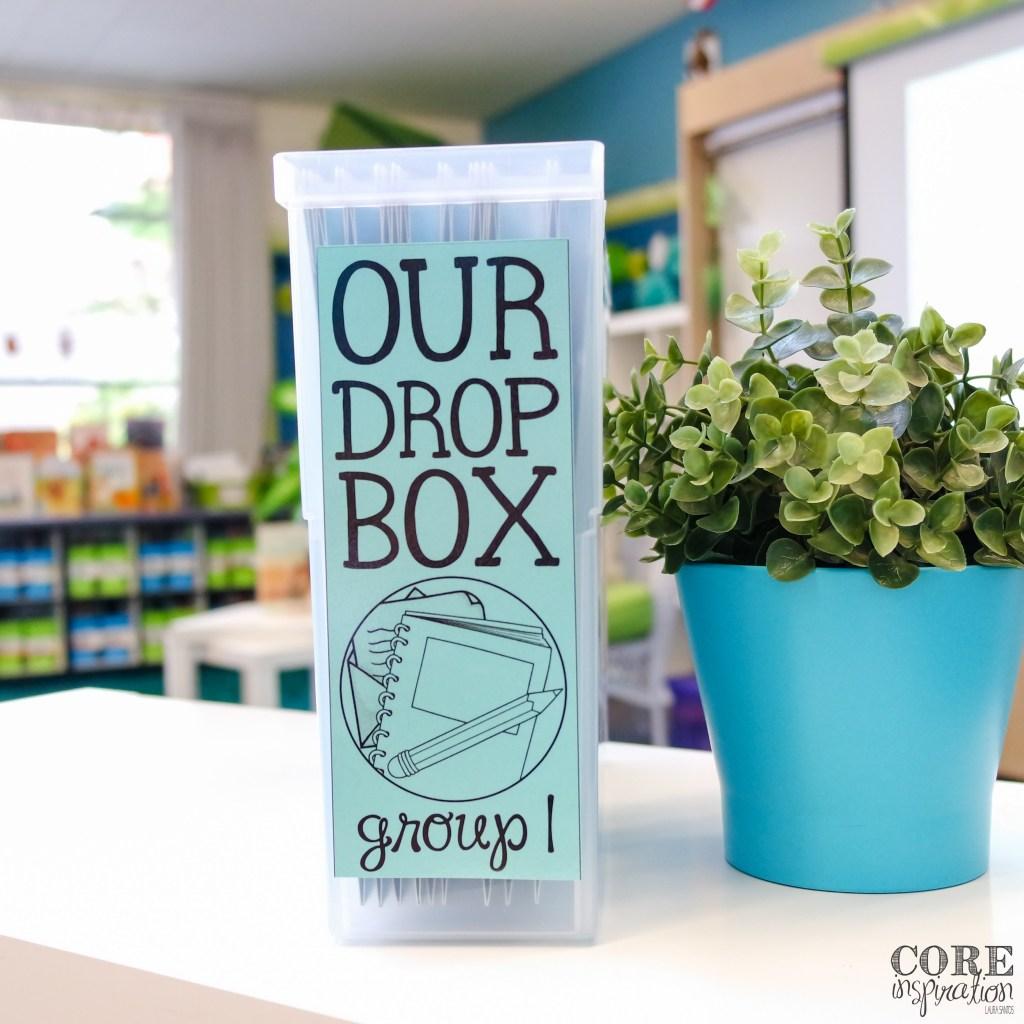 Core Inspiration Homework Drop Box