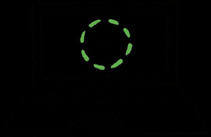 Ilustrace počítače