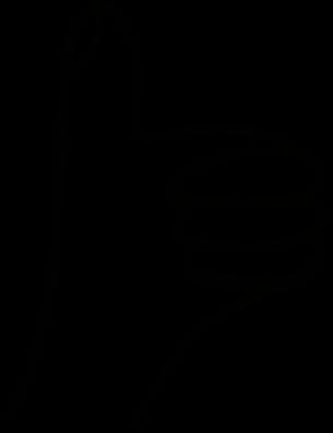 Ilustrace palce nahoru