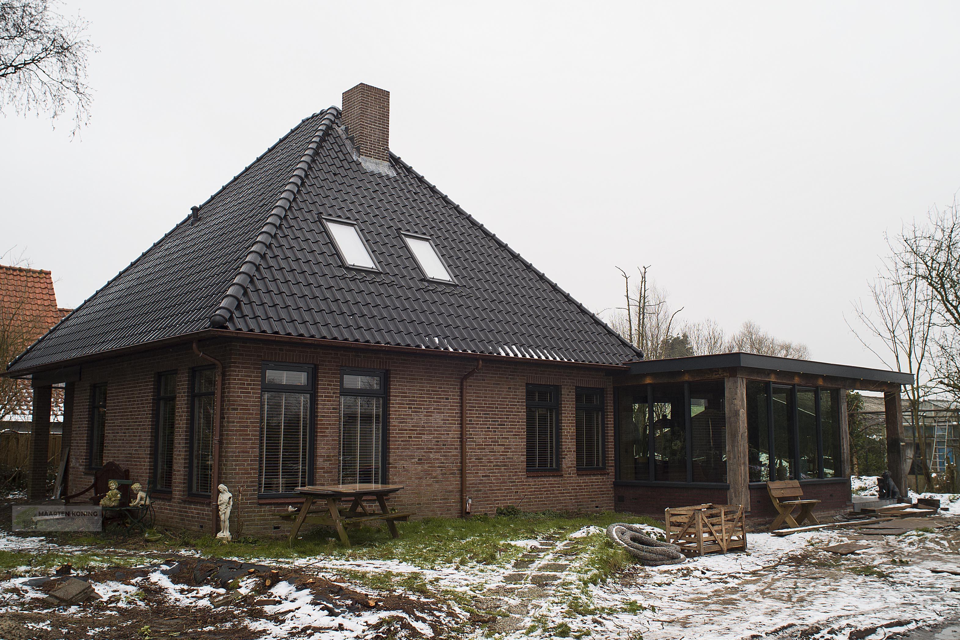 Aanbouw en verbouw van bestaande woning