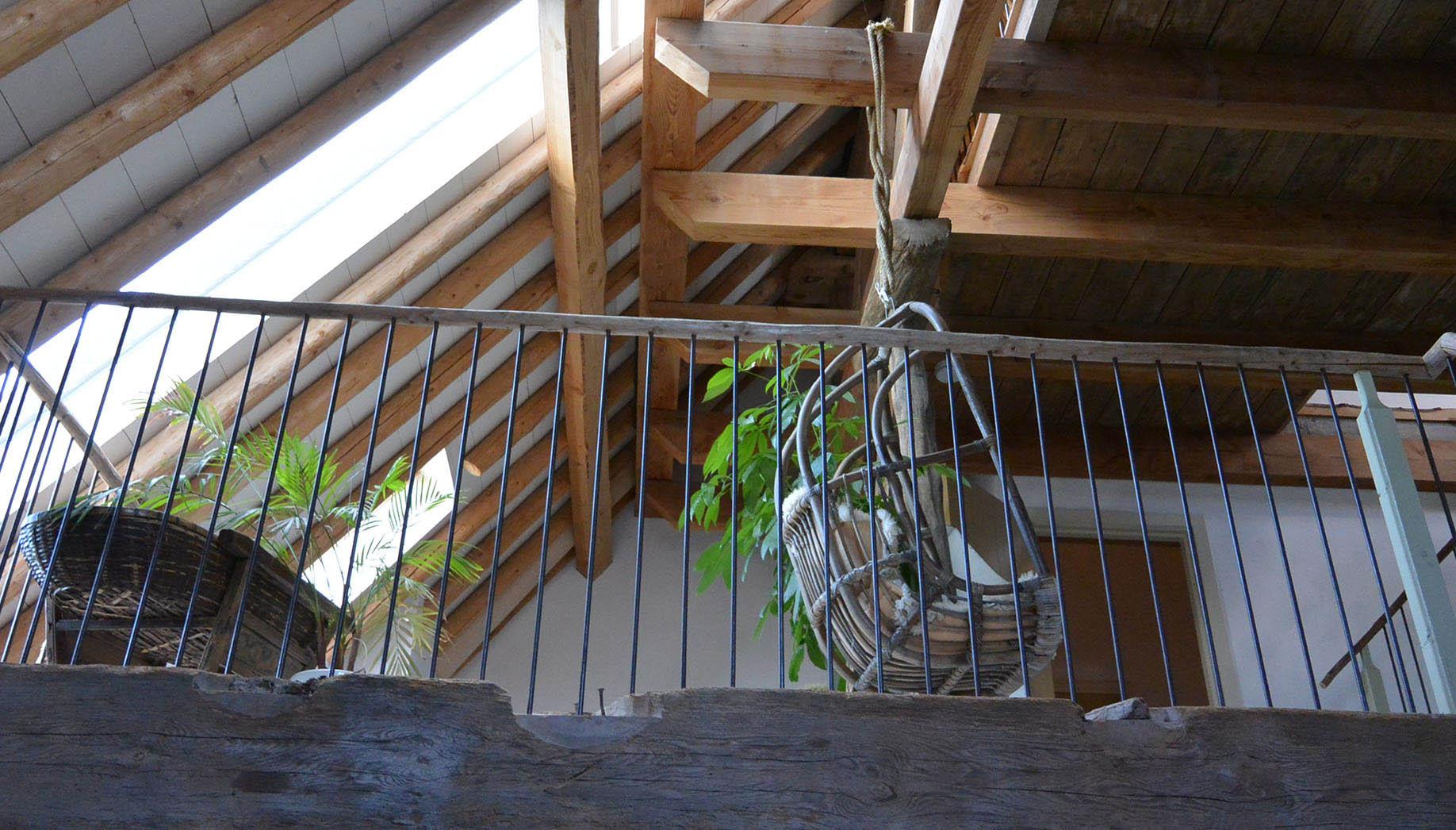 Koeraam van een stolp boerderij