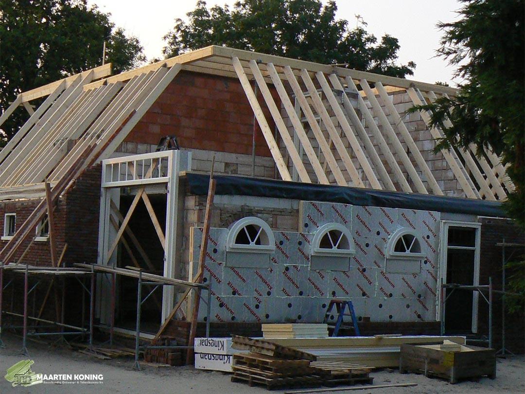 sporenkap-dak-constructie-balken