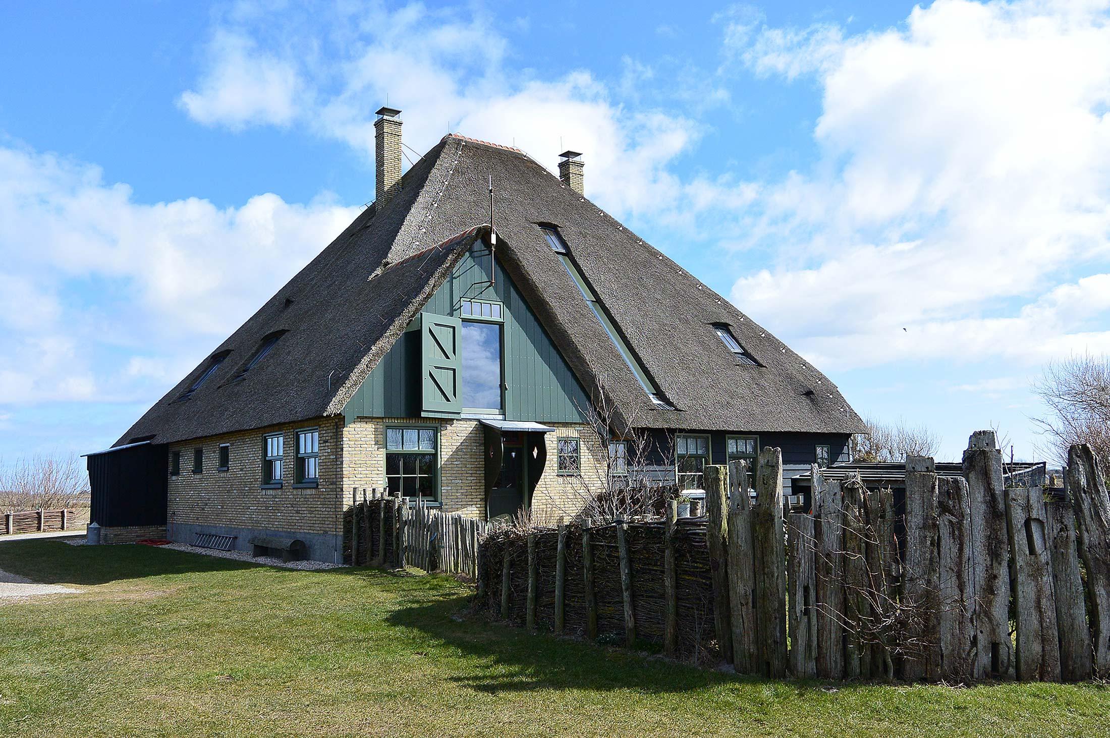 Een Maarten Koning stolp boerderij