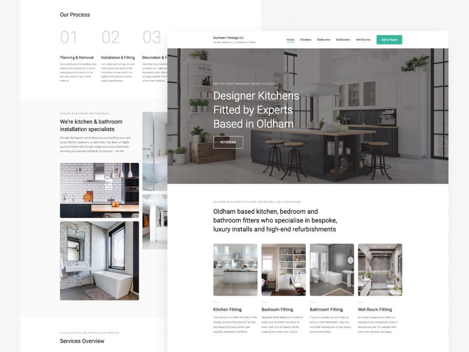 Kitchen Fitters Website