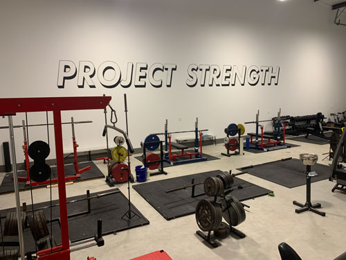 Project Strength has plenty of specialty powerlifting and strength training equipment.
