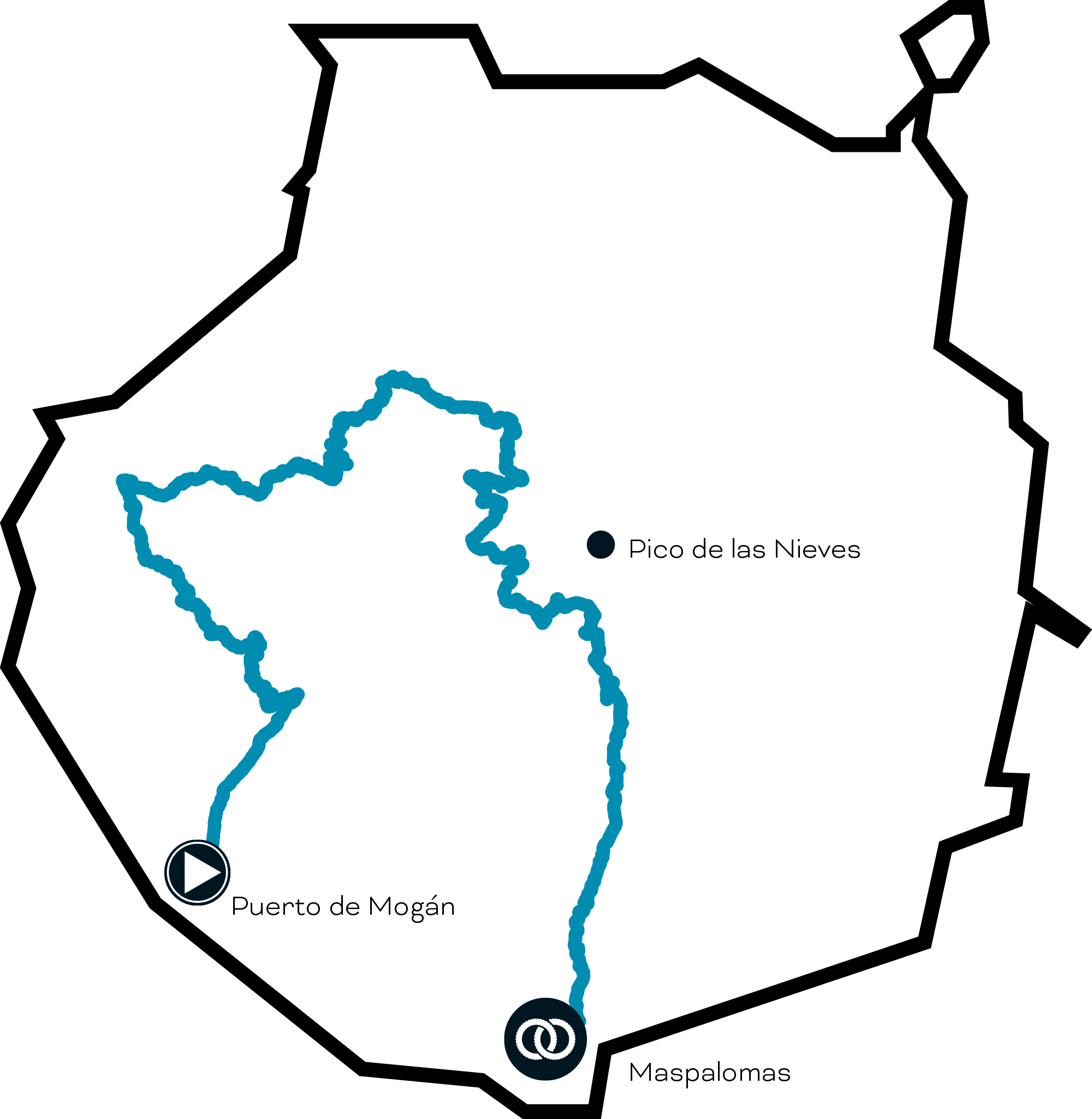 route map - dam valley challenge