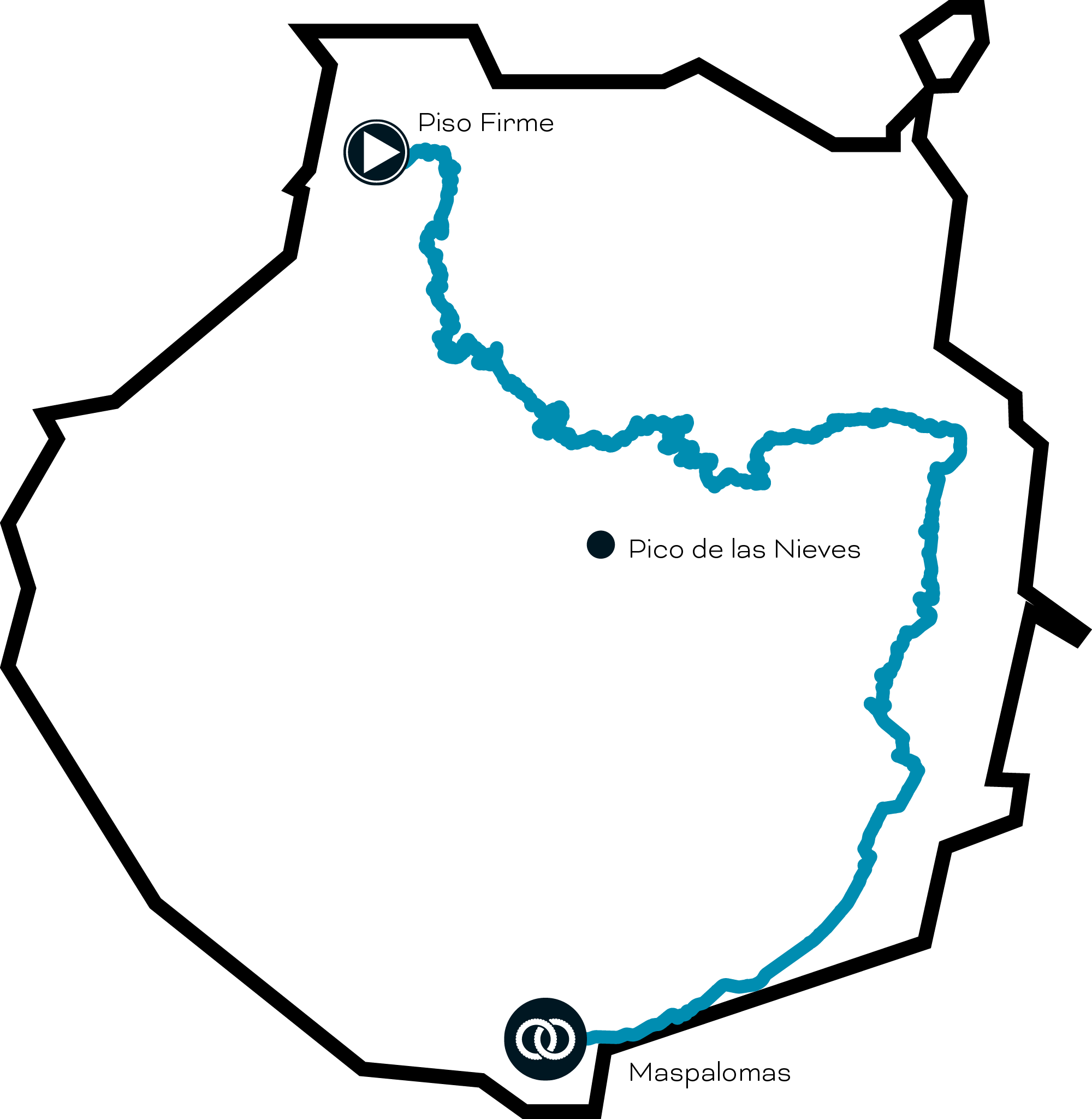 route map - black mountain