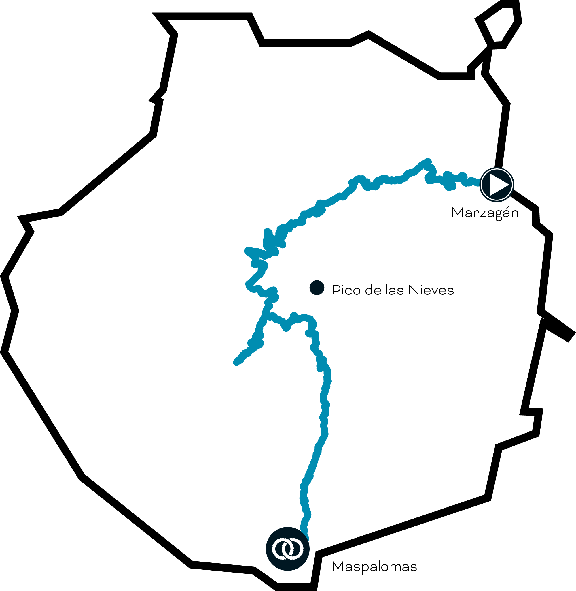 route map - bandama volcano