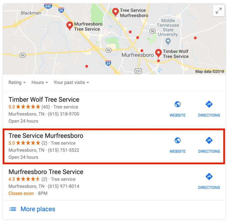 seo for tree services