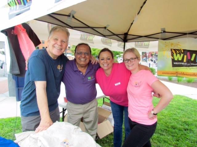 Westfield on Weekends volunteers