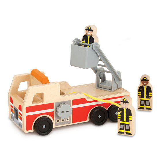 Melissa and Doug Wooden Fire Truck