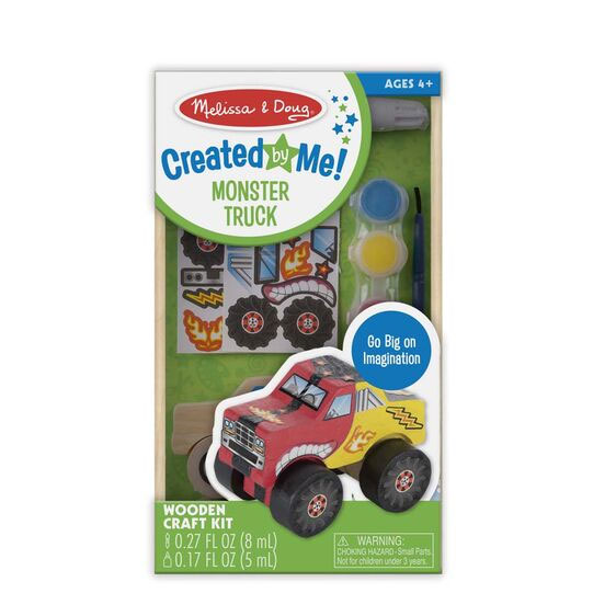 MD Wooden Monster Truck Craft