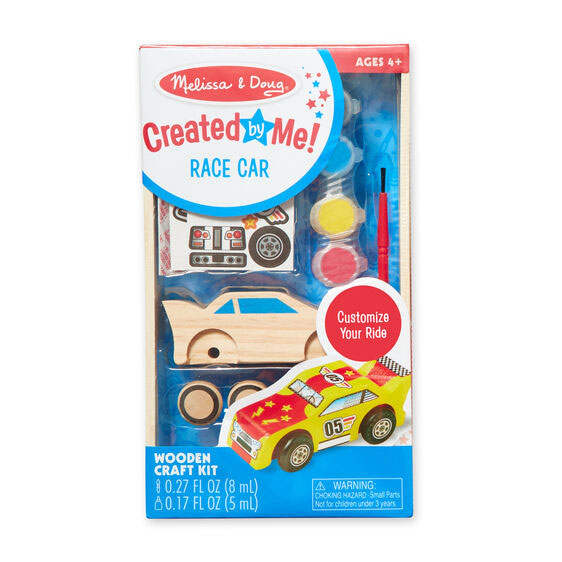 MD Wooden Race Car Craft