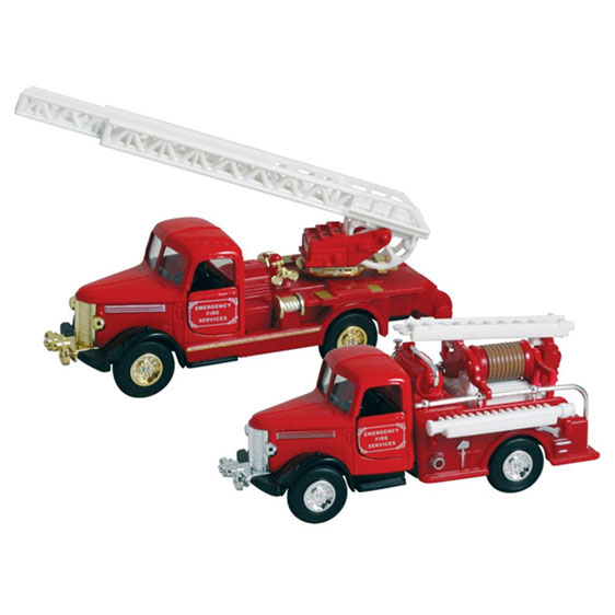 Classic pullback Fire Truck