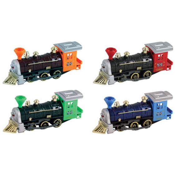 Super Locomotive Pullback