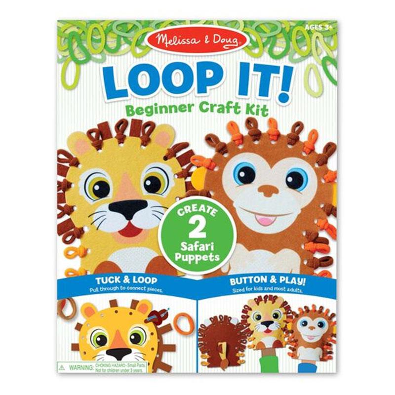 Safari Puppet Craft Kit