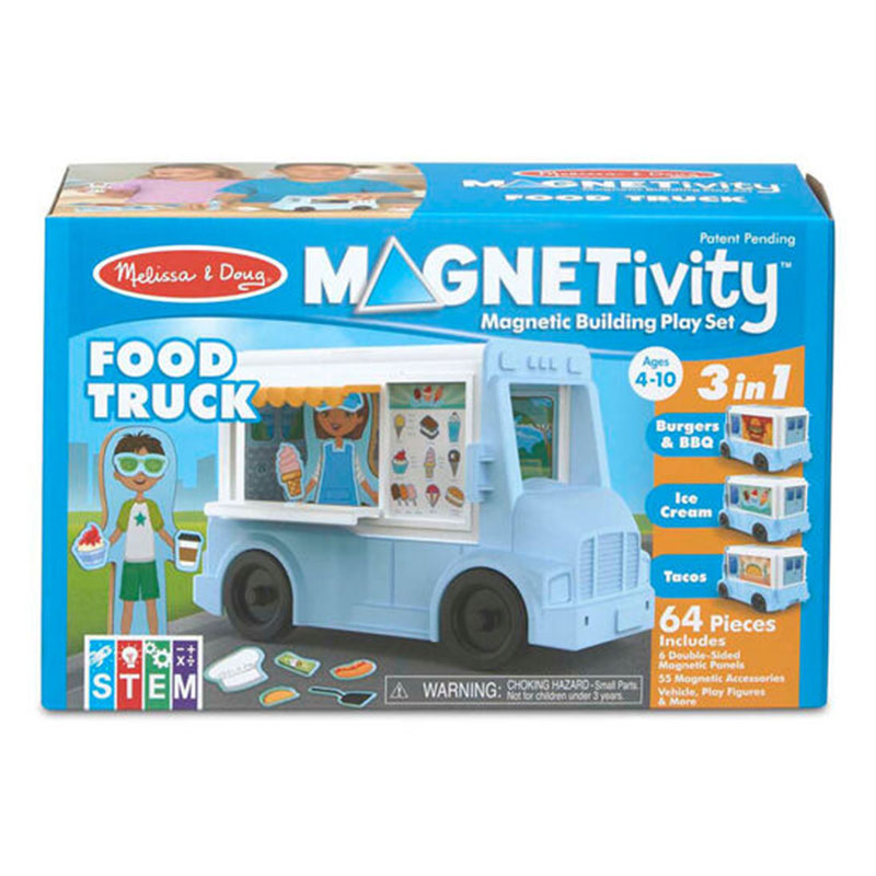 Magnetivity 3 in 1 Food Truck