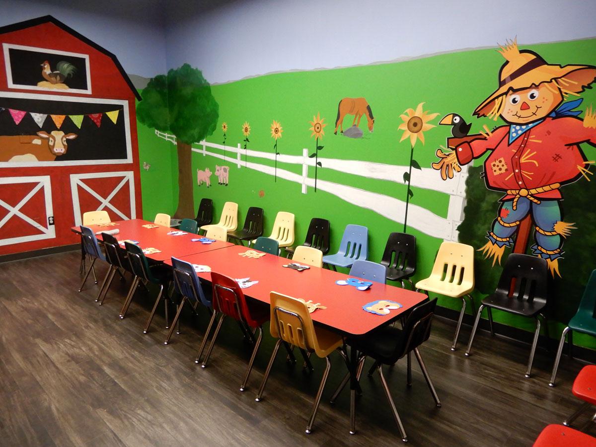 Barnyard Room