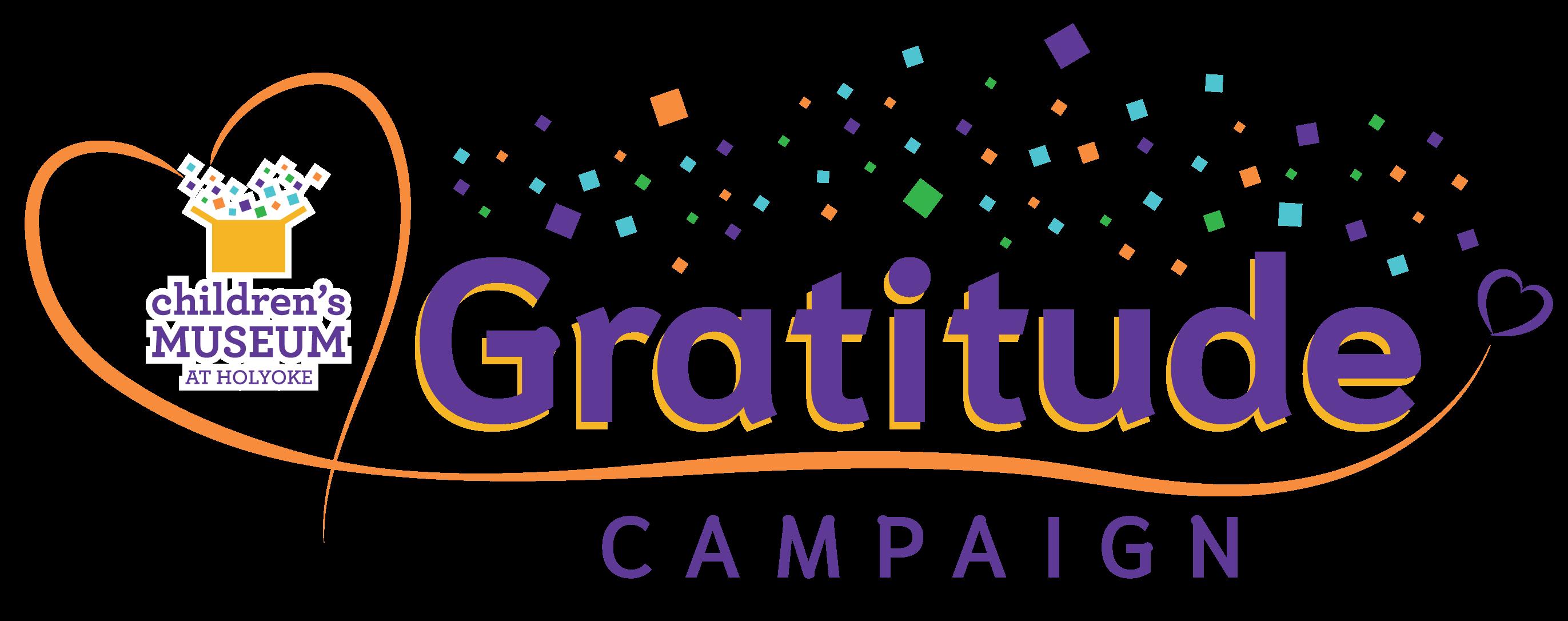 Children's Museum at Holyoke Gratitude Campaign logo